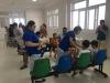 Chi Đoàn Bệnh viện tặng quà cho các em thiếu nhi đang điều trị tại Khoa Nhi