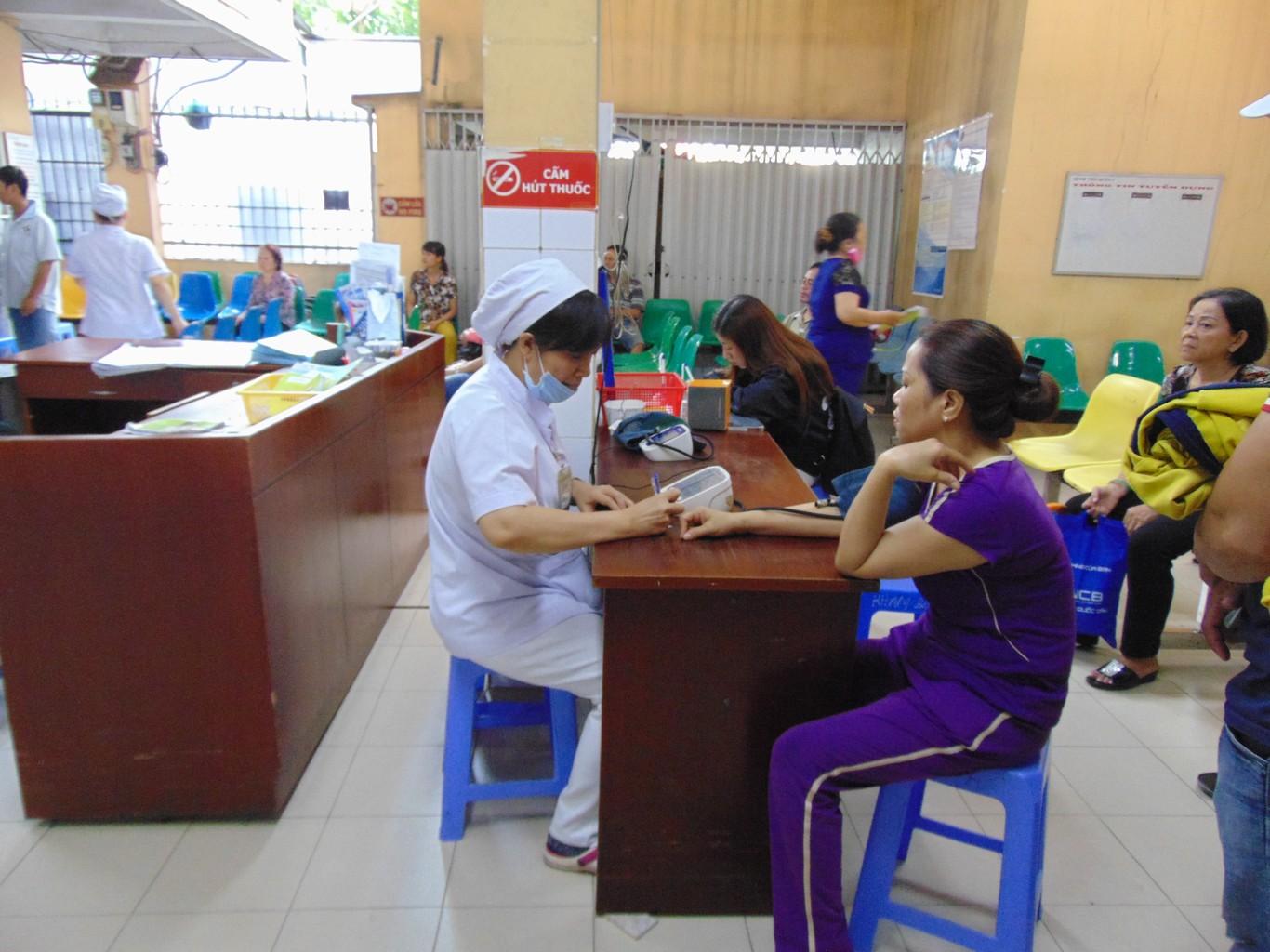 [Hình ảnh] Hoạt động Bệnh viện